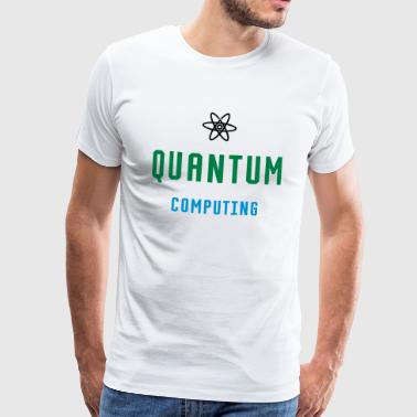 QUANTUM COMPUTING - qBIT - Men's Premium T-Shirt