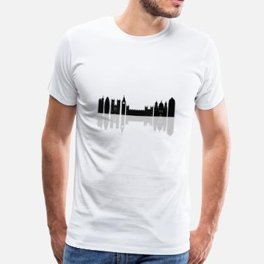 London Skyline London skyline - Men's Premium T-Shirt