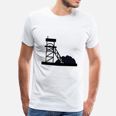 Miner miner miner mine mine coal coal5 - Men's Premium T-Shirt