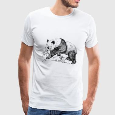 Panda bear - Men's Premium T-Shirt