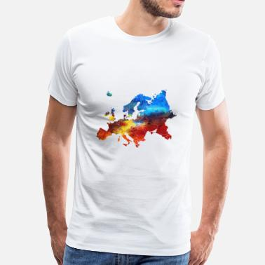 Europe Flag Europe - Men's Premium T-Shirt