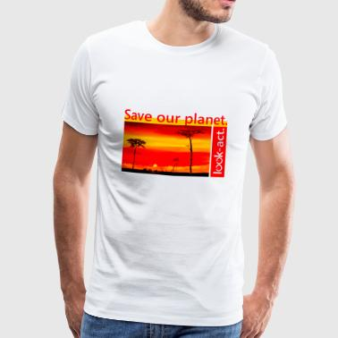 Safari: Save our planet! - Männer Premium T-Shirt