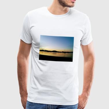 Sunset - T-shirt Premium Homme