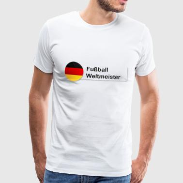 Soccer World Cup Germany Fan - Men's Premium T-Shirt