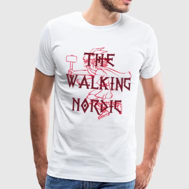 The Walking Nordic - Mannen Premium T-shirt