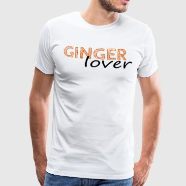 Ginger lover orange - Mannen Premium T-shirt