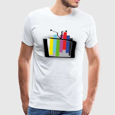 Test card outbreak - advanced 1 - Men's Premium T-Shirt