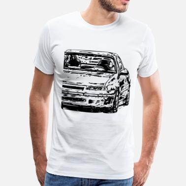 Calibra Calibra Dirty - Männer Premium T-Shirt