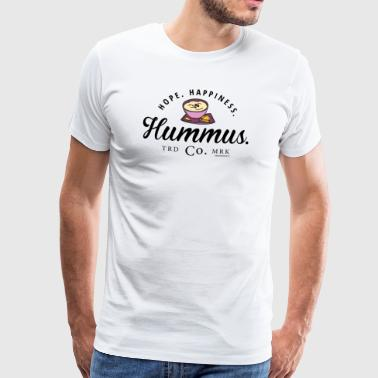 Hope. Happiness. Hummus. - Men's Premium T-Shirt