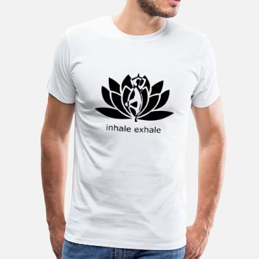 Funny Yoga yoga - Men's Premium T-Shirt