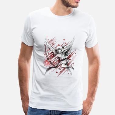 Love Cupid - Männer Premium T-Shirt
