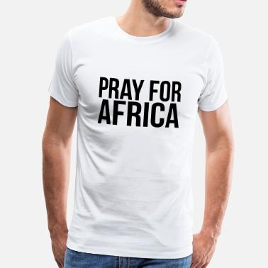 Attentat PRAY FOR AFRICA - Men's Premium T-Shirt