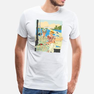 Comic Artist JLB Famous Painters 26072017 1 - Men's Premium T-Shirt