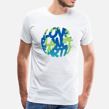 Planet Earth LOVE Planet Earth (Vivid) - Men's Premium T-Shirt