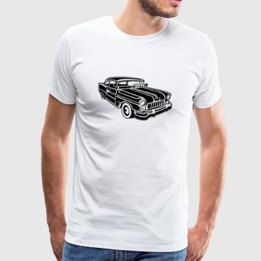 Chevy Cadilac / Muscle Car 02_black - Men's Premium T-Shirt