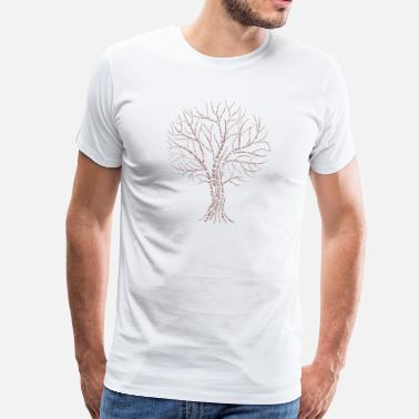 Code Binary Tree Tribe Zero One Code Regalo Nerd - Camiseta premium hombre