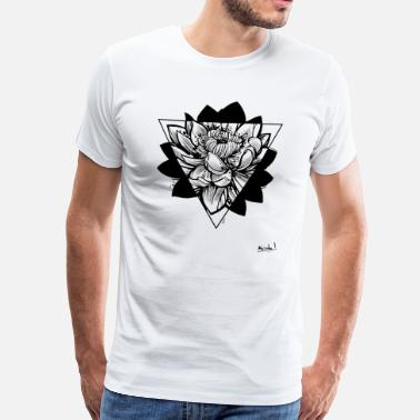 Lotus Blossom Lotus - Men's Premium T-Shirt