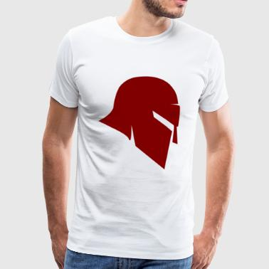 Spartan red side / Sparta - Männer Premium T-Shirt