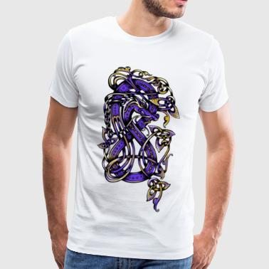purple dragon - T-shirt Premium Homme
