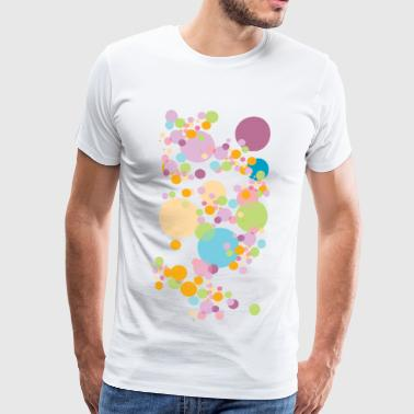 dots - Premium T-skjorte for menn