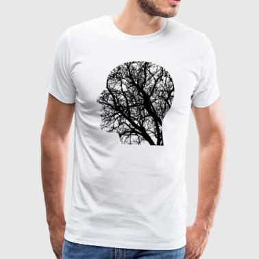 Tree Head - Men's Premium T-Shirt