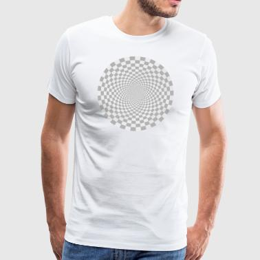 optical illusion - Männer Premium T-Shirt