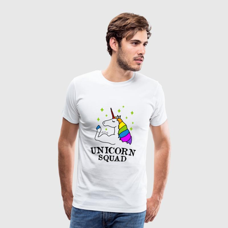 Unicorn Squad Gym Fitness - T-shirt Premium Homme