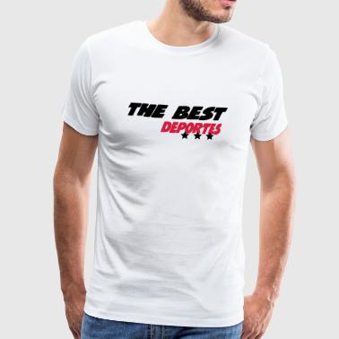 The best deportes - Men's Premium T-Shirt