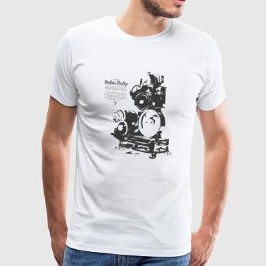 camera projecteur - T-shirt Premium Homme