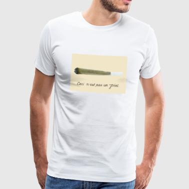 This is not a joint - Men's Premium T-Shirt