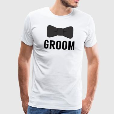 JGA / Bachelor: Groom - Groom - Men's Premium T-Shirt