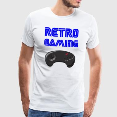 retrogaming - Mannen Premium T-shirt