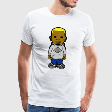 Chris Brown Breezy tea - Men's Premium T-Shirt