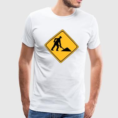 Building site - Men's Premium T-Shirt