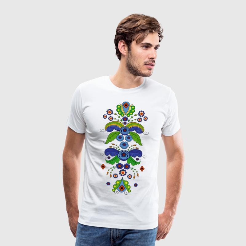 Folk Blume Kopfbedeckung Von Signhild Spreadshirt