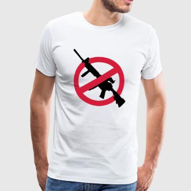 Anti armas contra armas Rifle Ban Demo Guns - Camiseta premium hombre