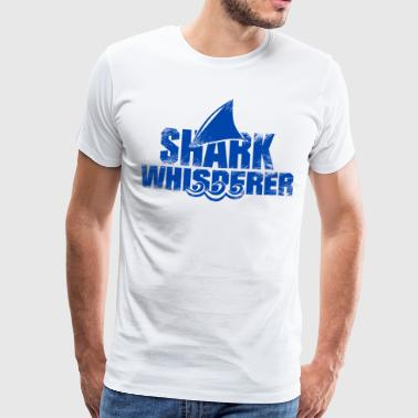 Croatia The Shark Whisperer - Hai Whisperer Funny - Men's Premium T-Shirt