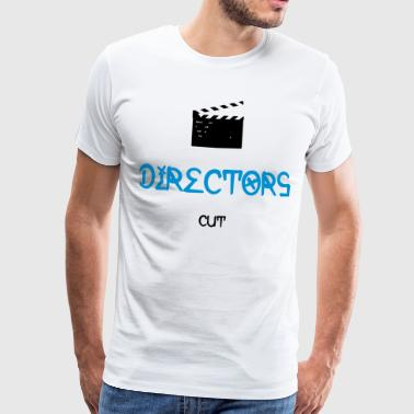 Clapperboard DIRECTOR'S CUT - CLAPPERBOARD - Men's Premium T-Shirt
