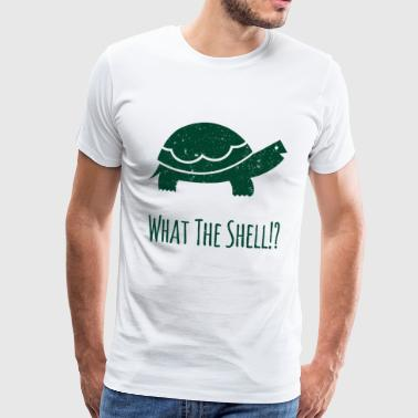 Funny Funny Cool Sayings Tortoise - Men's Premium T-Shirt