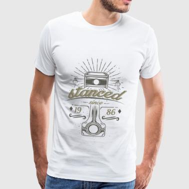 stanced pistons for tuning screwdrivers Automotive - Men's Premium T-Shirt