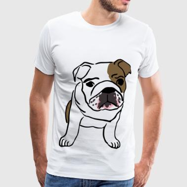 english Bulldog - Men's Premium T-Shirt