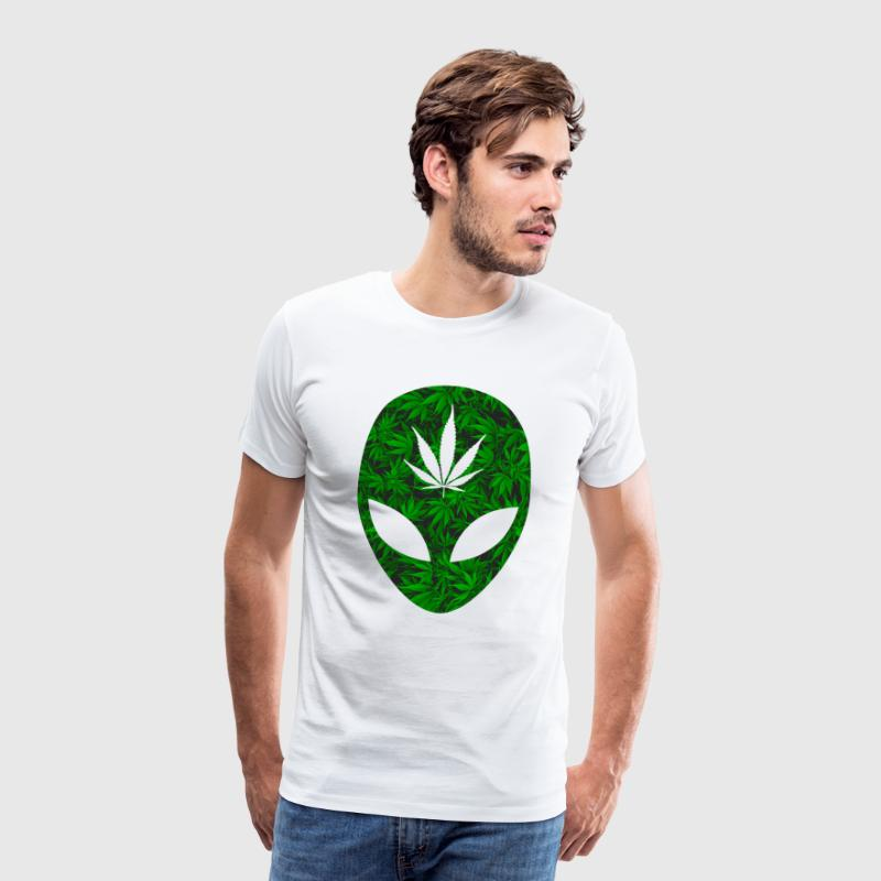 Weed Alien - Men's Premium T-Shirt