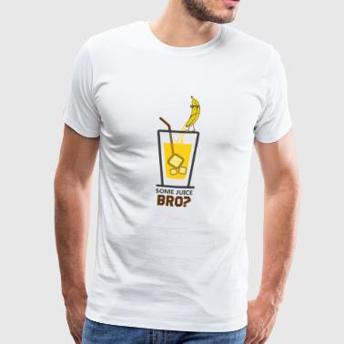 Banana juice freshly tapped - Men's Premium T-Shirt