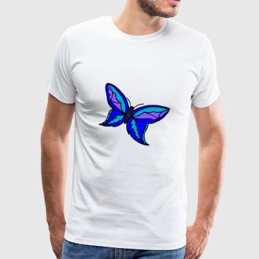 cute butterfly gift - Men's Premium T-Shirt