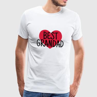 Family Grandad Grandpa Grandad Grandfather Family Baby Funny - Men's Premium T-Shirt