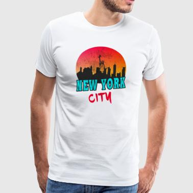 New York City / New York / USA / Gift - Men's Premium T-Shirt