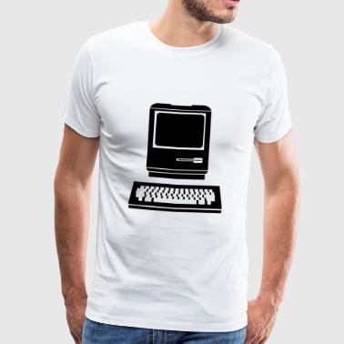 Old Computer computer - Men's Premium T-Shirt