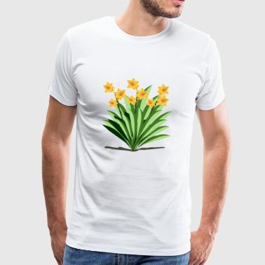 daffodil - Men's Premium T-Shirt