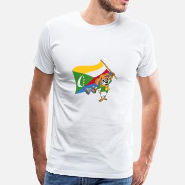 Comoros Comoros fan dog - Men's Premium T-Shirt