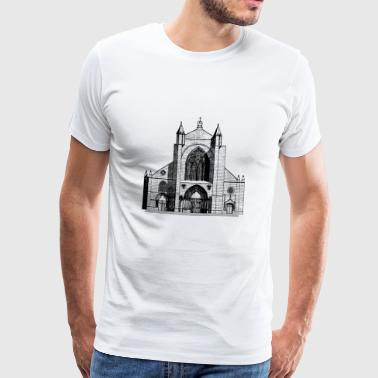 god god church church bible bible wedding wedding sign - Men's Premium T-Shirt